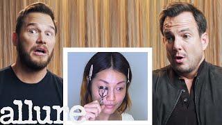 Download Chris Pratt and Will Arnett Narrate A Makeup Tutorial | Allure Video