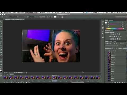 GIF erstellen mit Photoshop Tutorial
