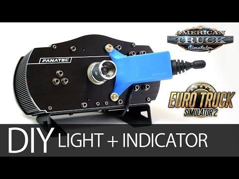 DIY TRUCK SIM INDICATOR AND LIGHT SWITCH