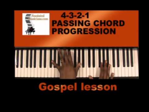 passing chords-learn to play gospel chords