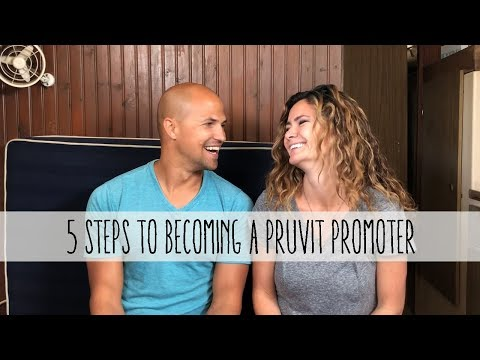 5 steps to become a pruvit promoter