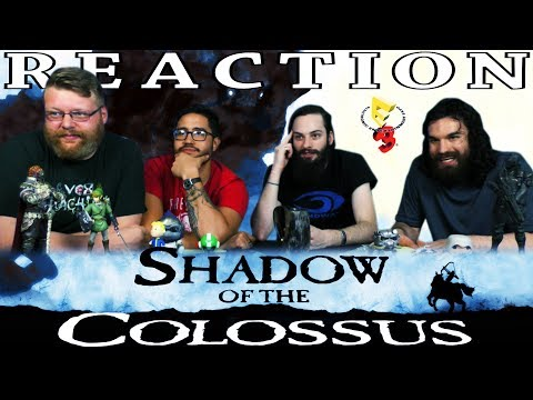 Shadow of the Colossus - PS4 Trailer REACTION!! E3 2017