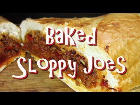 Oven Baked Smoky Sloppy Joes ~ Hoagie Grinder Sub Sandwich Recipe