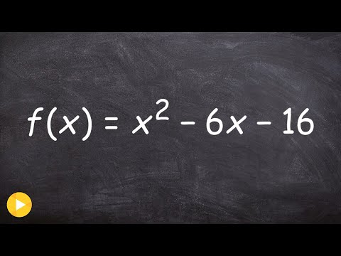 Factoring a trinomials to find the zeros of a function