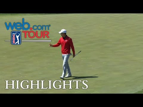 Maverick McNealy drains birdie putt for Shot of the Day