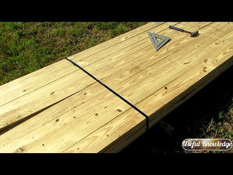 Pole Barn Construction (Lumber Band Removal) | Useful Knowledge