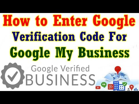 How to Enter Google Verification Code for Google My Business In Telugu