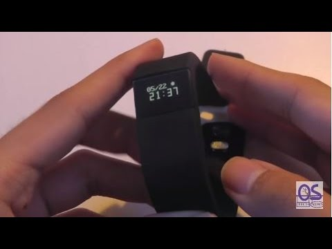 REVIEW: TW64 Bluetooth Smart Fitness Tracker Watch Band