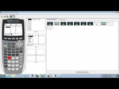 Elementary Statistics: Finding the Sample Standard Deviation Using the TI-83-84 Calculator