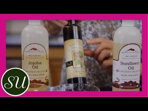 DIY Hot Hair Oil Treatment for Dry & Damaged Hair Recipe & Tutorial
