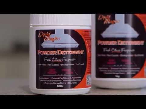 How To Clean Your Exhaust Fan Filter With Liquid Magics Powder Detergent