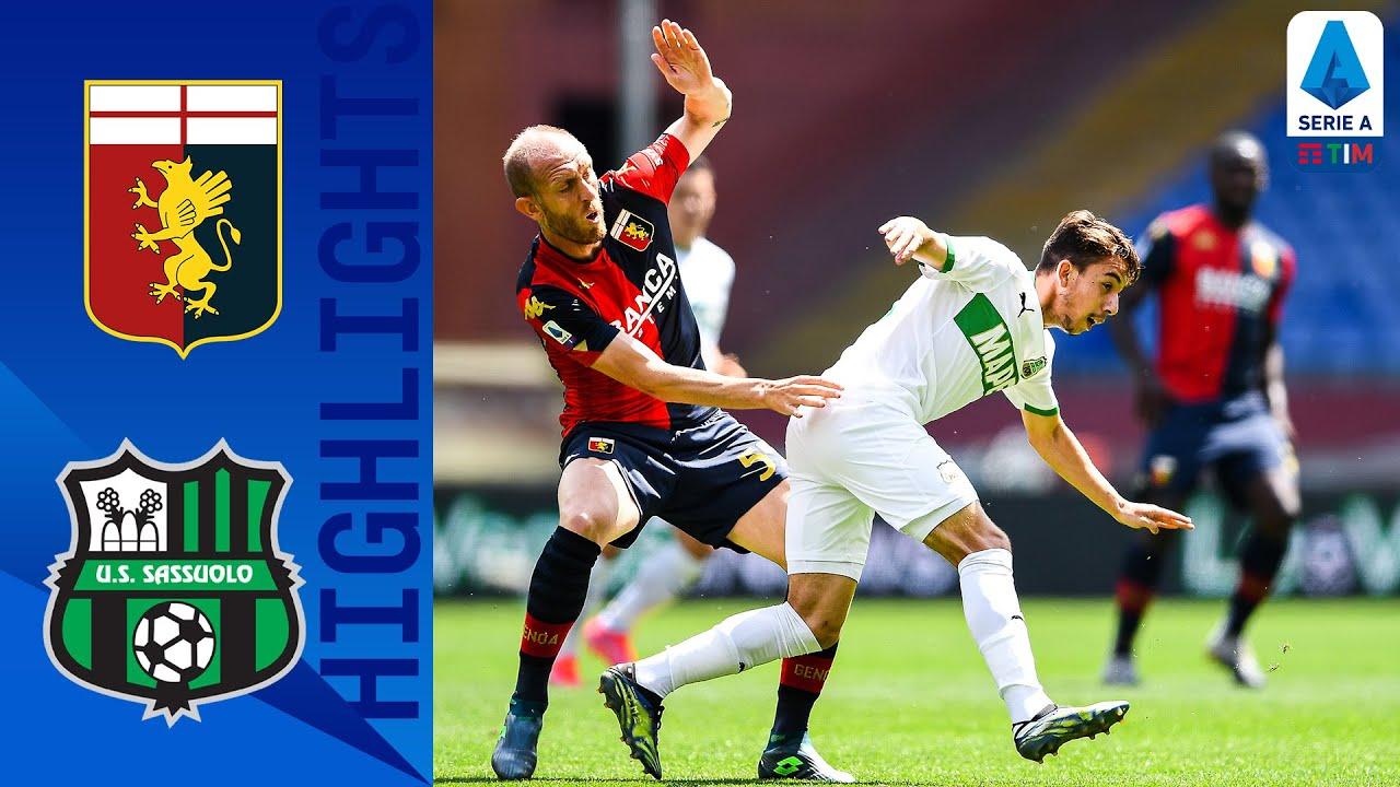 Genoa 1-2 Sassuolo | Berardi Strike Seals Away Win For Sassuolo! | Serie A TIM