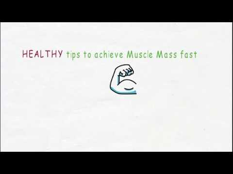 tricks to achieve healthy muscle mass | explaination and methos | in hindi