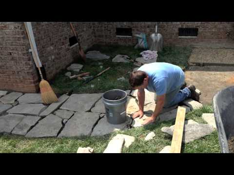 Flagstone Walkway Project