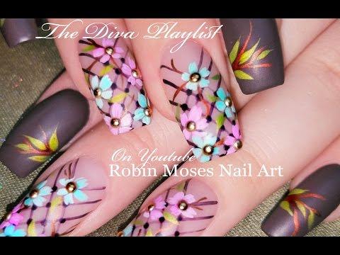 Pastel Daisy Nails!   DIY Spring Flower Nail Art Design Tutorial
