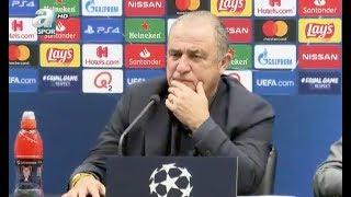 Fatih Terim Galatasaray Club Brugge Maçı Sonrası Basın Toplantısı Düzenledi