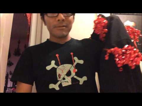 How To Make a Gothic Ugly Christmas Sweater