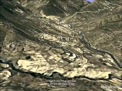 Visualization in Google Earth Road Design