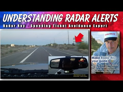 How to Properly Respond to Radar Detector Alerts - Radar Roy