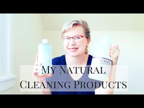 Natural Cleaning Products | What I Use To Clean My Home