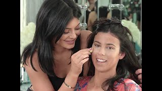 [ FULL VIDEO ] Kylie Jenner Does Make Up Tutorial on Her Assistant Victoria Using Kylie Lip Kit