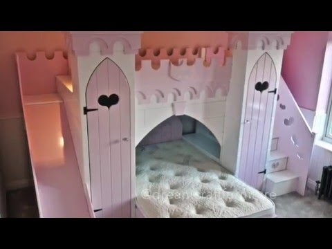 Installation Time lapse of Princess Castle Bunk Bed by Dreamcraft Furniture
