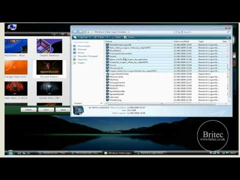 How to Change Windows Vista & XP Logon Background Screen with LogonStudio