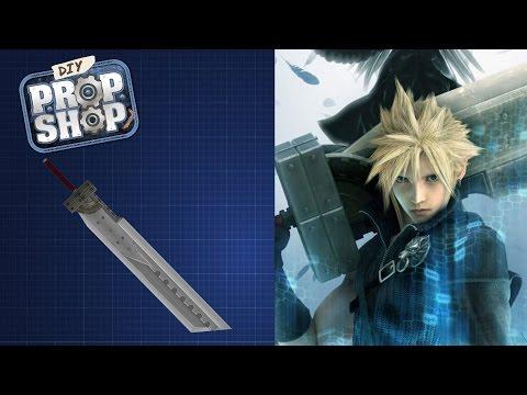 Cloud's Fusion Sword - Final Fantasy VII - DIY PROP SHOP