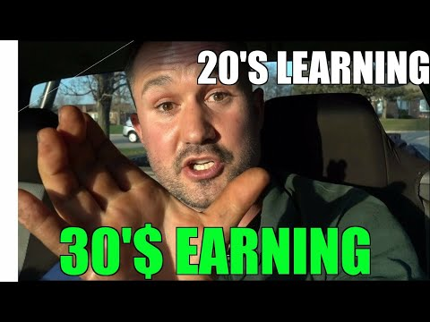 Your 20's Are Your Learning Years - 30's Are Your Earning Years - You Dont Owe Them An Explanation -