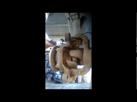 Ball Joint Removal Dodge 3500 2011 4X4 6