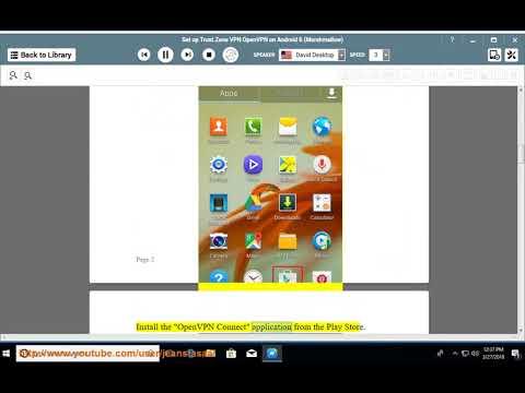 Set up Trust.Zone OpenVPN on Android 6 Marshmallow