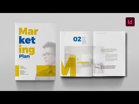 Marketing Plan: InDesign Template