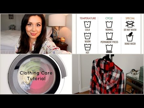 Clothing Care Tutorial: How to Clean, Steam, Dry and De-Pill your Clothing