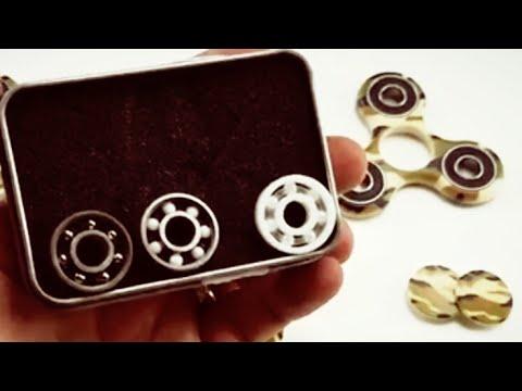 Spinner Bearings: Steel -vs- Hybrid -vs- Full Ceramic - Which One Spins Longest?