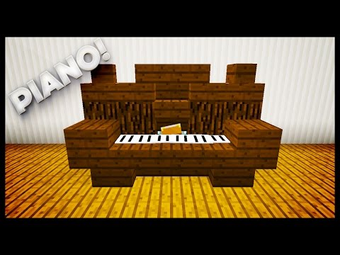 Minecraft - How To Make A Piano
