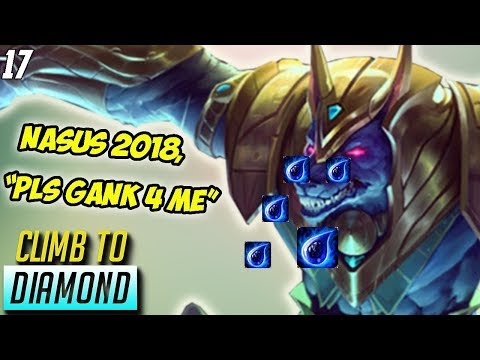 Nasus Cries for Assistance, Master Yi BANNED, Tryndamere JUNGLE- Climb to Diamond #17