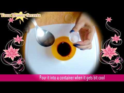 ✔ How To Make Lip Balm for Pink, Glossy & Soft Lips At Home In Hindi  होंठ गुलाबी बनाने के लिए