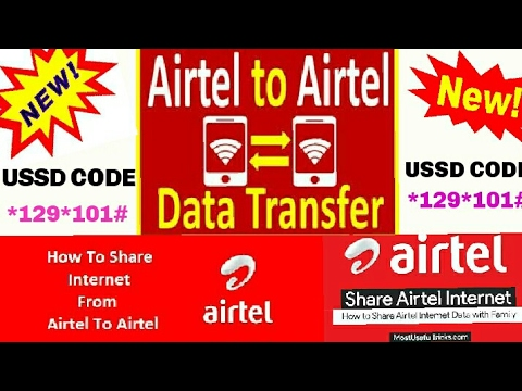 How to share your Airtel Data to Airtel Sim