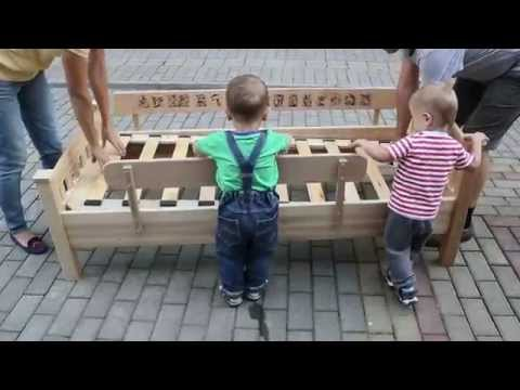 Building bed for kid