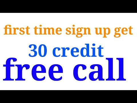 30 credit free call anywhere world
