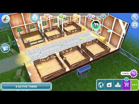 The Sims Freeplay - Need For Steed / Feed The Horse