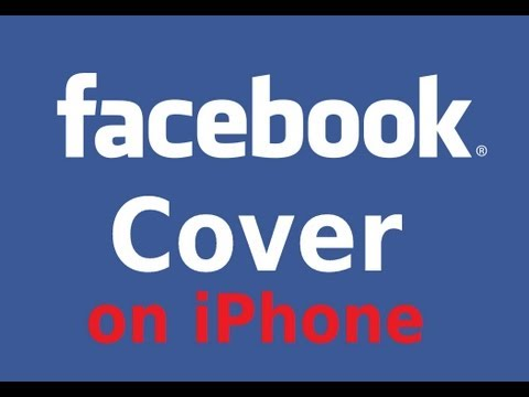How to change Cover Photo on Facebook for iPhone