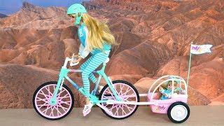 Barbie & Kelly - Bike, Set Fashion ❤️ Barbie
