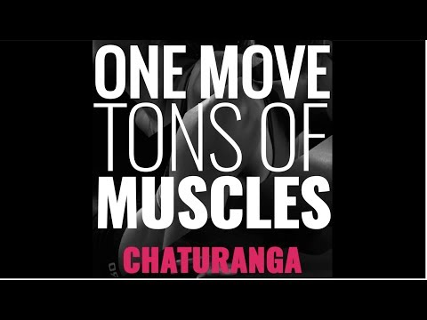 Chaturanga: One Move, Tons of Muscles | SHAPE