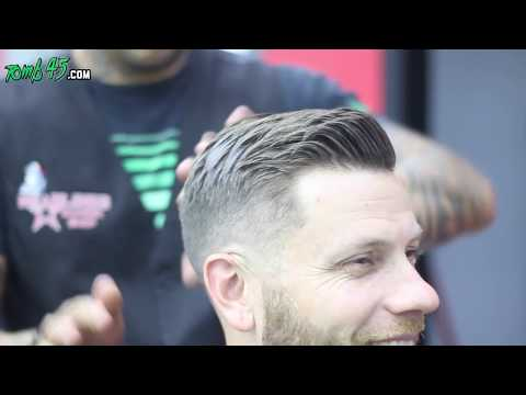 How to Fade a Gentleman Side Part Haircut by @ink_stylist_cyress using Fast Feeds