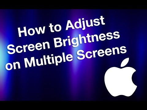How to Adjust Screen Brightness on a Mac (Multiple Monitors)