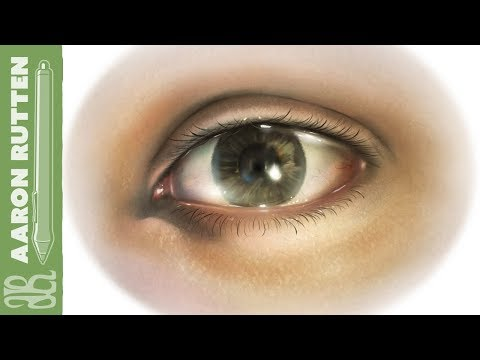 Digital Painting of an Eye (Speed Paint)