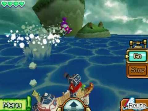 The Legend of Zelda Phantom Hourglass Walkthrough -To Molida Island & The Temple of Courage- Part 16