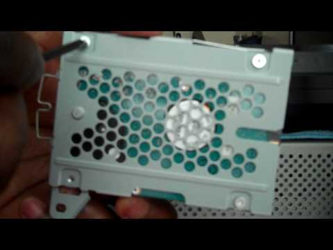 PS3 Slim Hard Drive Replacement