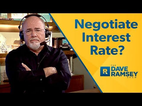 How To Negotiate a Student Loan Interest Rate
